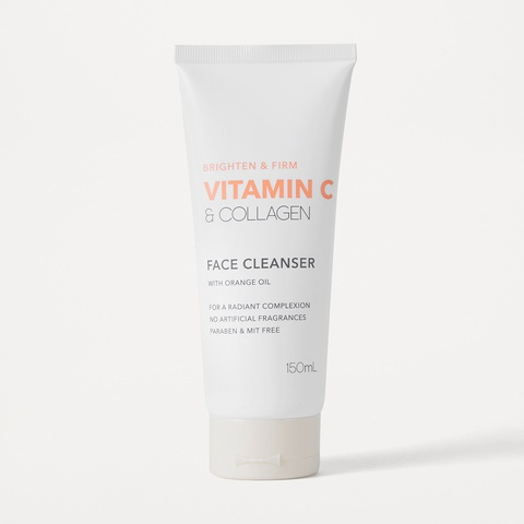Kmart Vitamin C & Collagen Face Cleanser