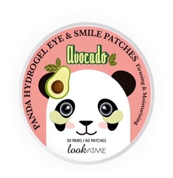Lookatme Panda Hydro Gel Eye & Smile Patches Avocado