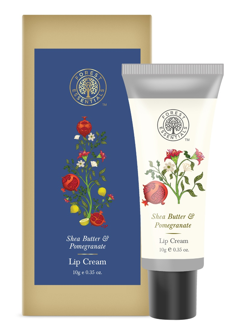 Forest Essentials Shea Butter And Pomegranate Lip Cream