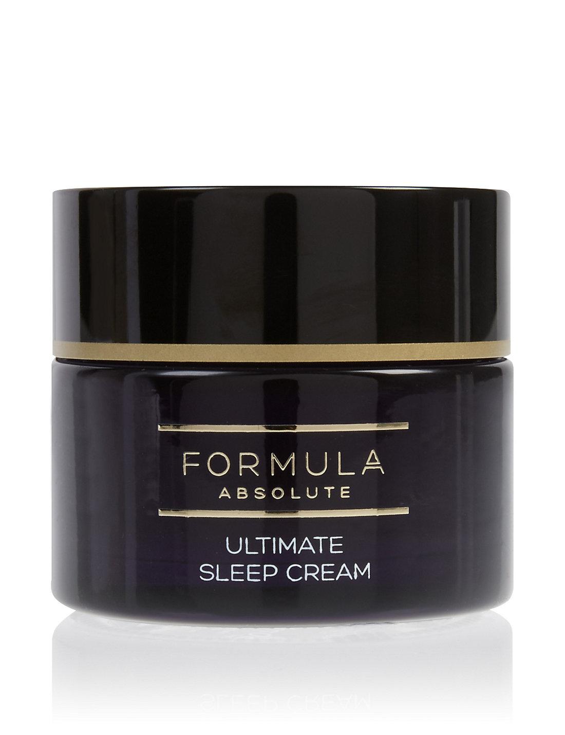 Marks & Spencers Formula Absolute Ultimate Sleep Cream