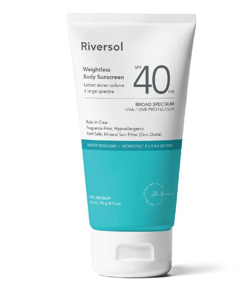 Riversol SPF 40 Weightless Body Sunscreen