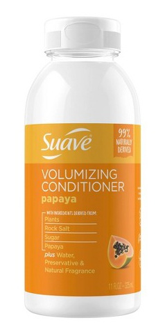 Suave Naturally Derived Papaya Volumizing Conditioner
