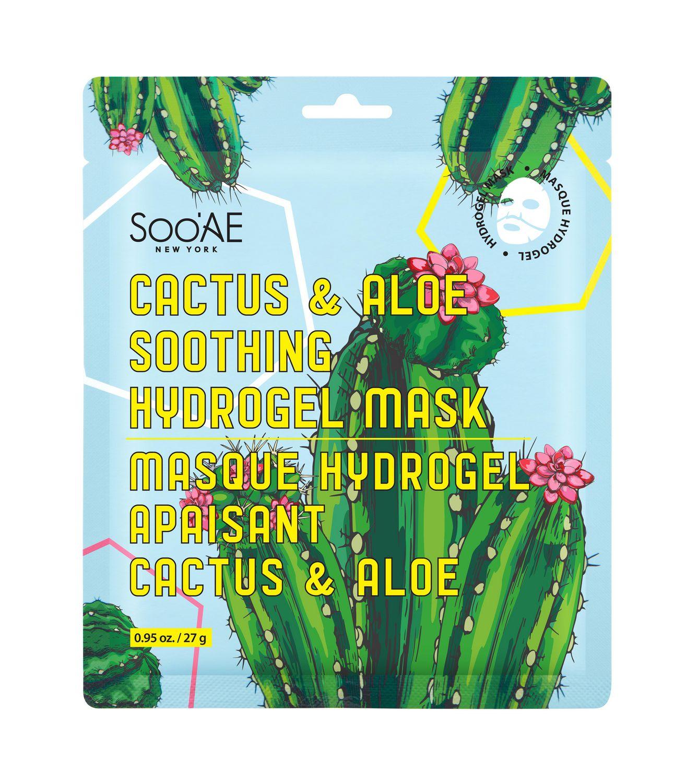 Soo'Ae Cactus & Aloe Soothing Hydrogel Mask