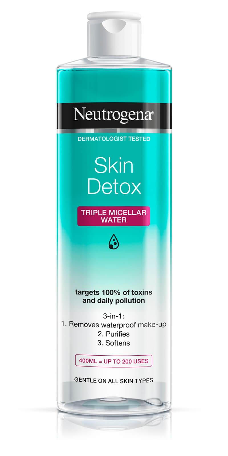 Neutrogena Skin Detox Triple Micellar Water