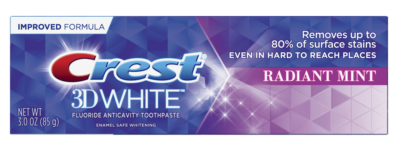 Crest 3D White Radiant Mint