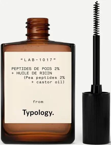 Typology Sérum Cils & Sourcils Peptides De Pois 2% + Huile De Ricin