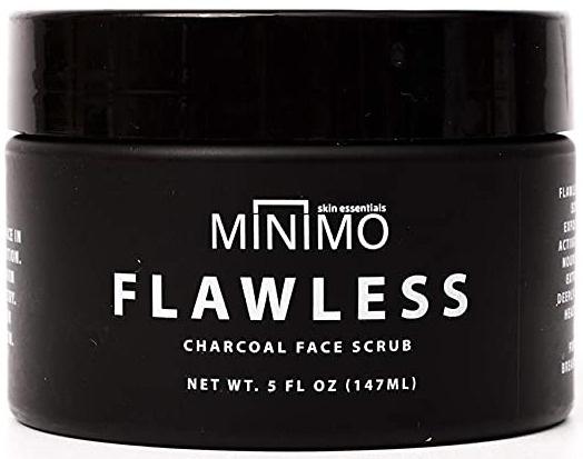 Minimo Flawless Charcoal Face Scrub