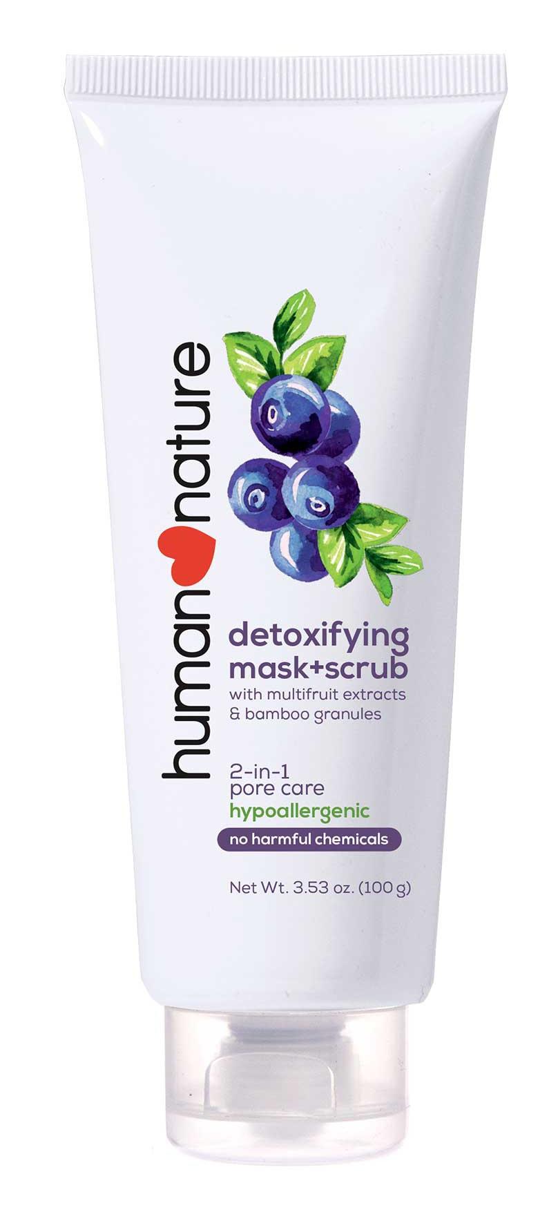 human  nature Detoxifying Mask + Scrub