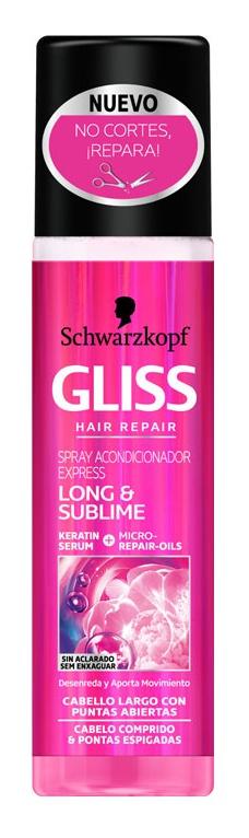 Schwarzkopf Gliss Conditioner Spray Long & Sublime