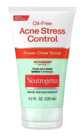 Neutrogena Oil-Free Acne Stress Control Power Clear Face Scrub