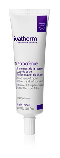ivatherm Eau Thermale Herculane Metrocreme Treatment Of Facial Redness