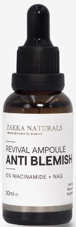 Zakka Naturals Revival Anti-Blemish Niacinamide 10% Ampoule