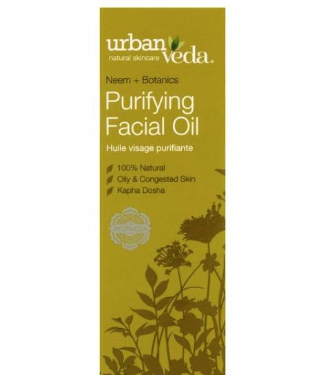Urban Veda Neem + Botanics Purifying Facial Oil