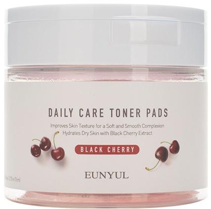 Eunyul Daily Care Black Cherry Toner Pads