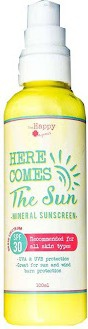 SIMPLYGREENANDNATURAL Here Comes The Sun Mineral Sunscreen Spf 30