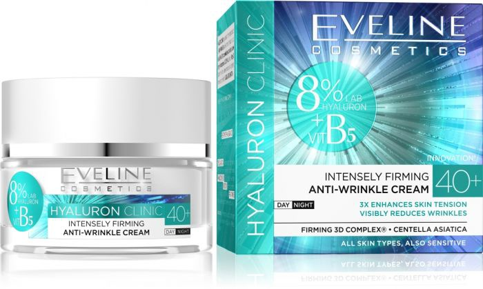 Eveline New Hyaluron 50+ Lifting Anti Wrinkles Cream - Hyaluron Clinic B5