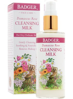 Badger Rose Cleansing Milk