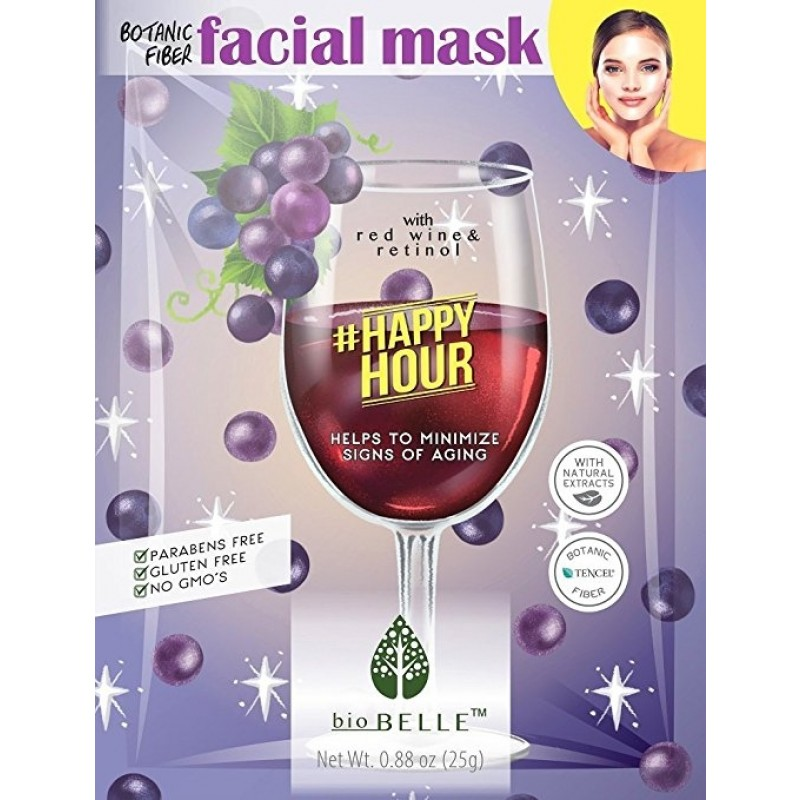 Biobelle #Happyhour Facial Mask