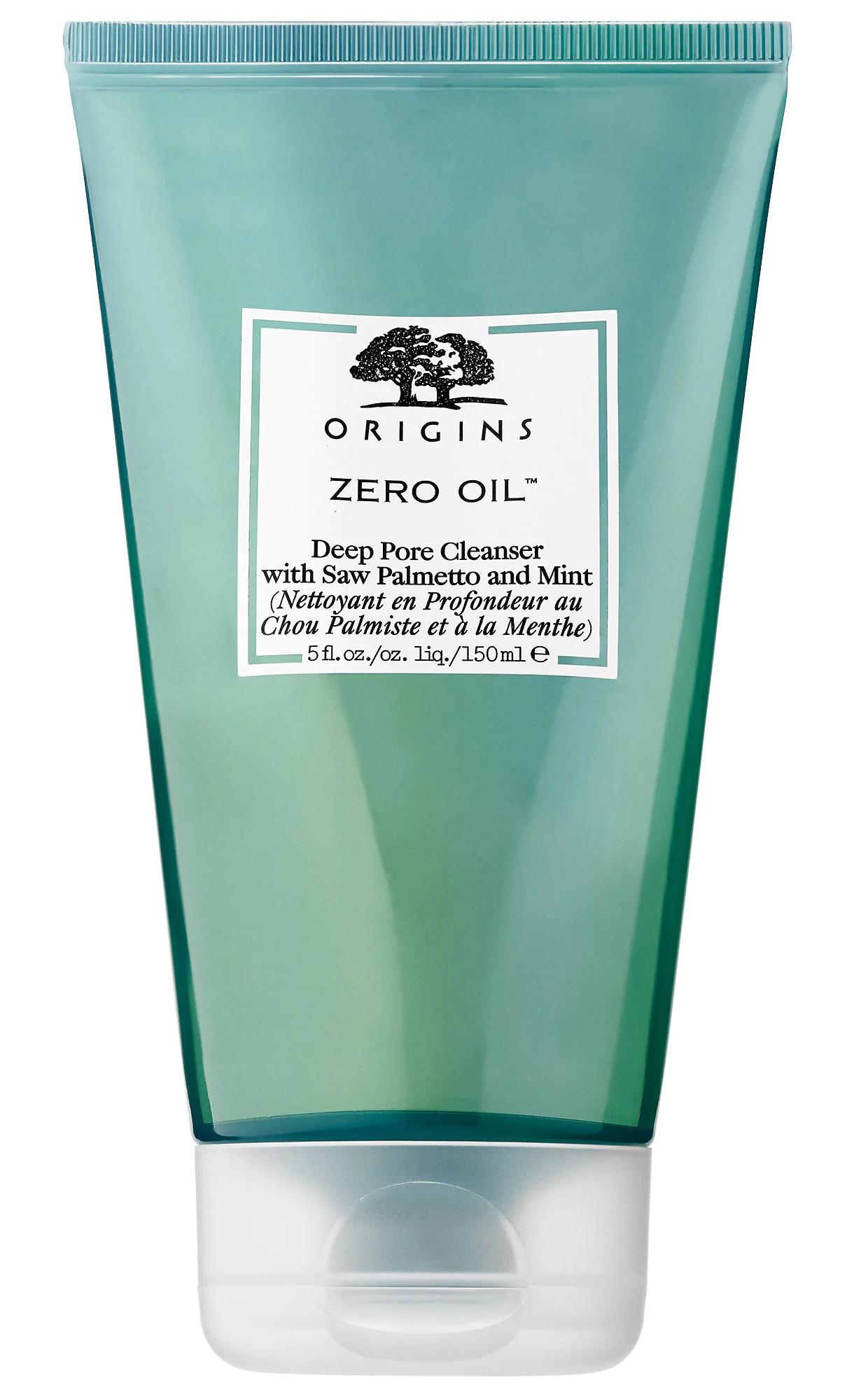 Origins Zero Oil Deep Pore Cleanser With Saw Palmetto & Mint