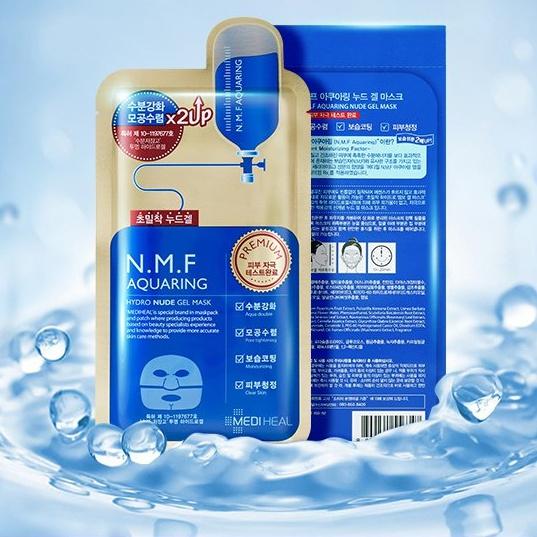 Mediheal N.M.F Aquaring Hydro Nude Gel Mask