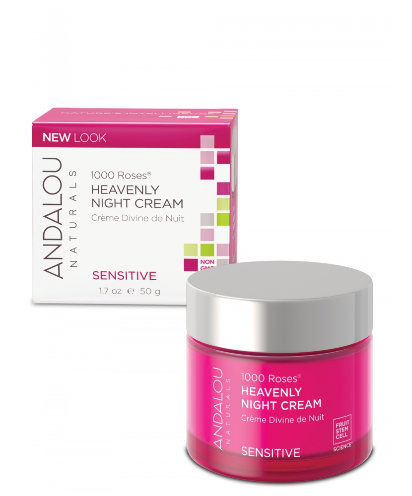 Andalou 1000 Roses® Heavenly Night Cream