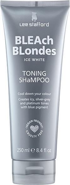Lee Stafford Bleach Blondes Ice White Shampoo
