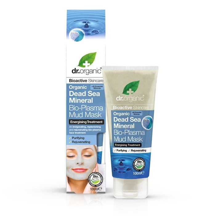 Dr Organic Dead Sea Mineral Bio-Plasma Mud Mask