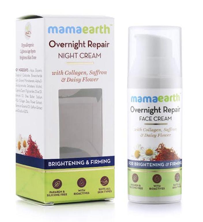 Mamaearth Overnight repair night cream