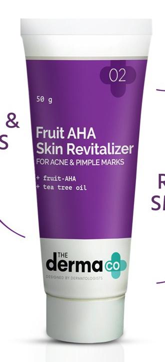 The derma CO Fruit Aha Skin Revitalizer