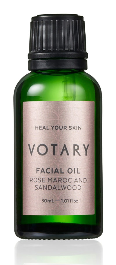 Votary Facial Oil - Rose Maroc And Sandalwood
