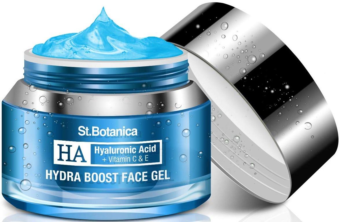St. Botanica Hyaluronic Acid Hydra Boost Face Gel