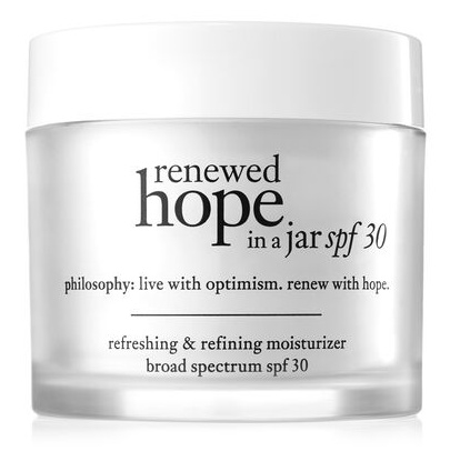 Philosophy Renewed Hope In A Jar SPF 30 Face Moisturizer