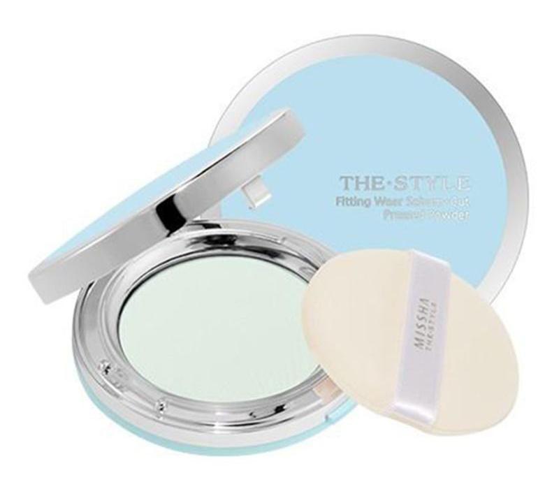Missha The Style Fitting Wear Sebum - Cut Pressed Powder No.2 Clear Peach