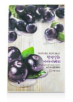 Nature Republic Real Nature Mask Sheet Acai Berry