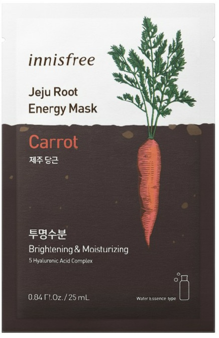 innisfree Jeju Root Energy Mask [Carrot]