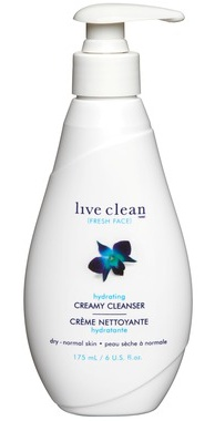 Live Clean Fresh Face Hydrating Creamy Cleanser