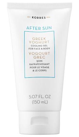 Korres After Sun Greek Yoghurt Cooling Gel For Face And Body