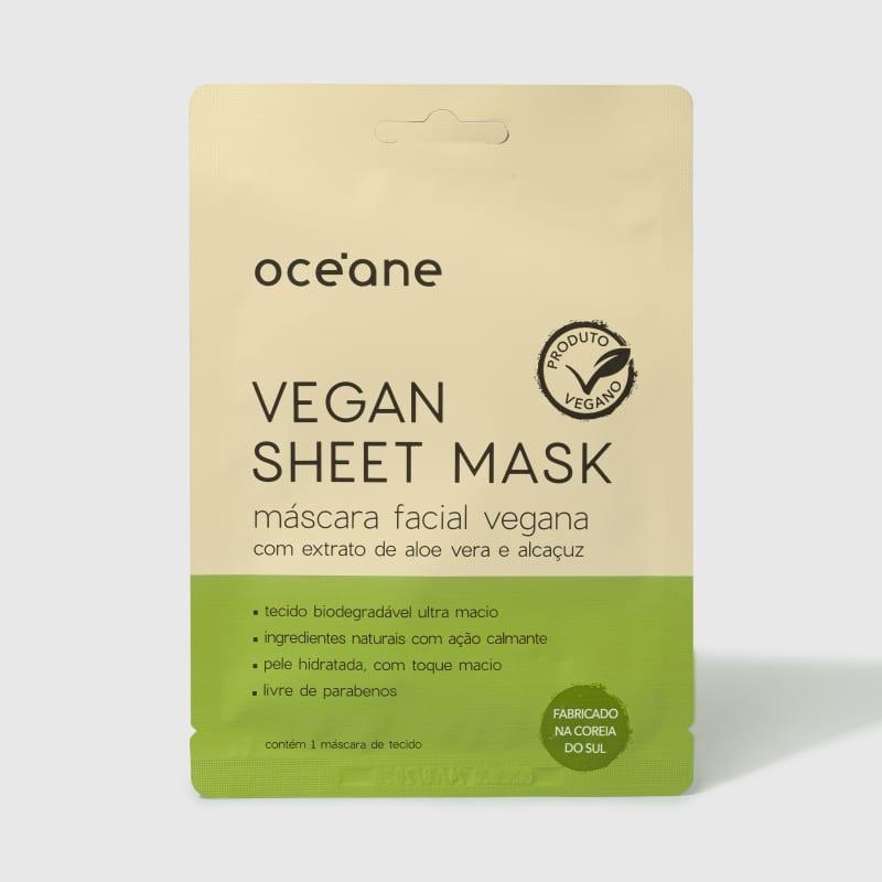 Oceane Vegan Sheet Mask - Máscara Facial Vegana