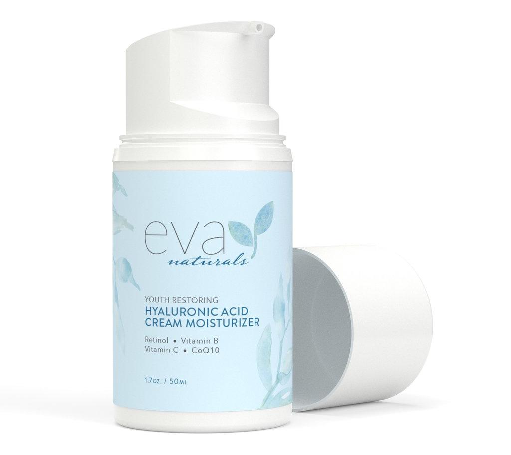 Eva Naturals Hyaluronic Acid Cream Moisturizer