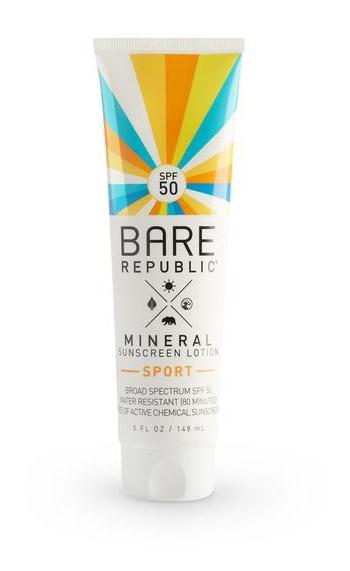 Bare Republic Mineral Spf Sport Sunscreen Lotion