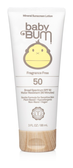BABY BUM Mineral Spf 50 Sunscreen Lotion-Fragrance Free
