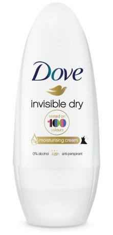 Dove Invisible Dry Under Arm Roller