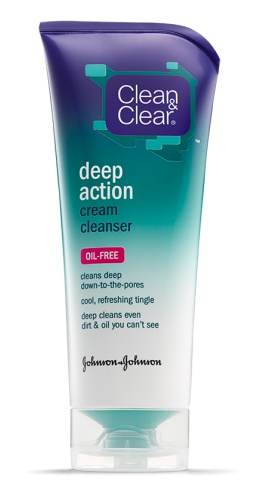 Clean & Clear Deep Action Oil Free Cream Face Wash