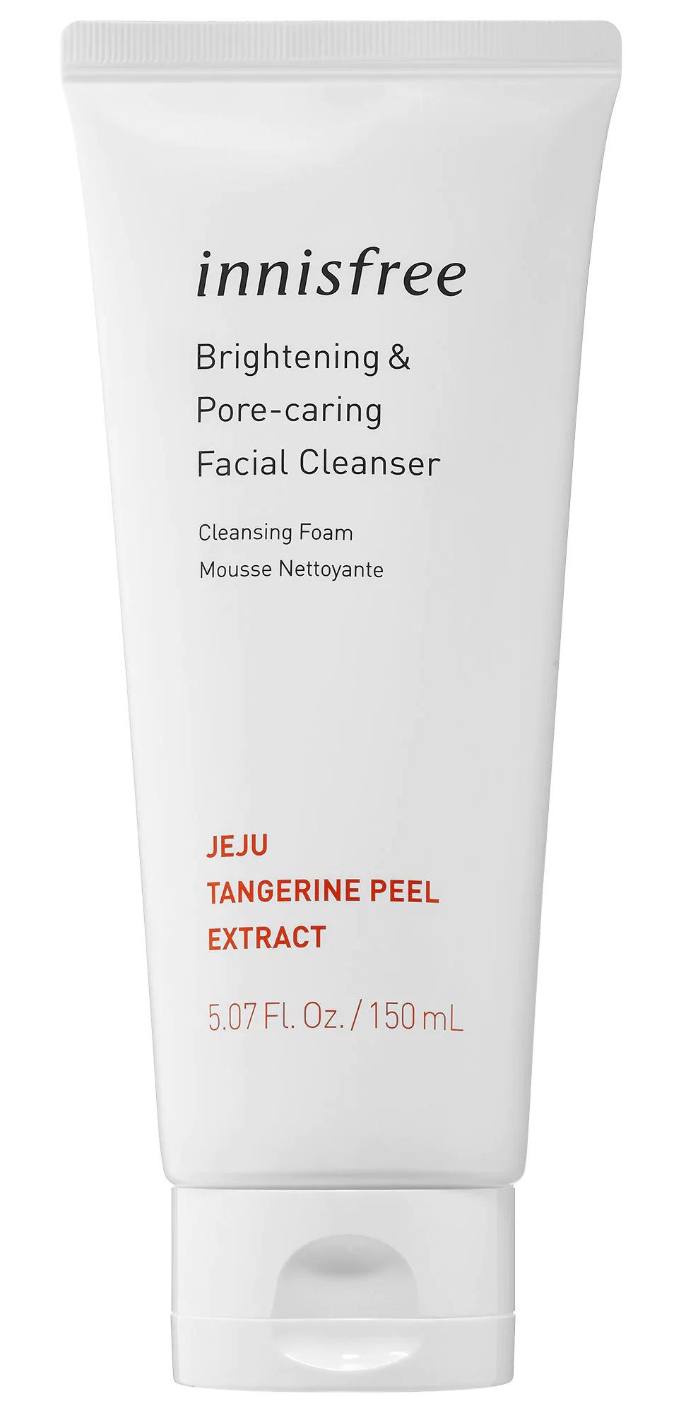 innisfree Tangerine Brightening & Pore-Refining Cleanser