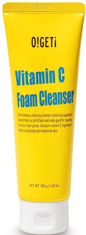 O!GETi Vitamin C Foam Cleanser