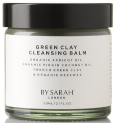 By Sarah London Natural Green Clay Cleansing Balm