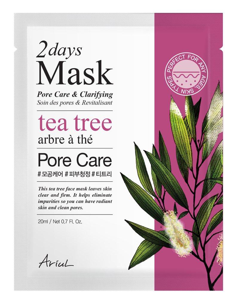 Ariul 2 Days Mask Tea Tree Pore Care & Clarifying
