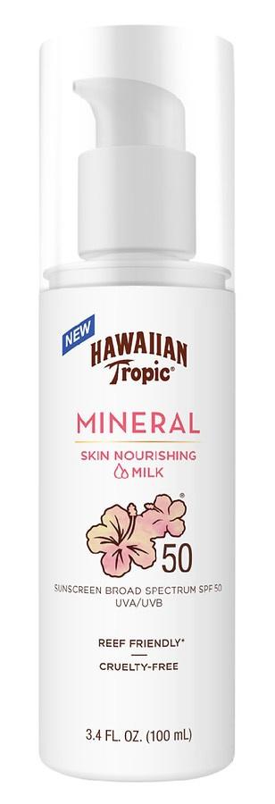 Hawaiian Tropic Mineral Skin Nourishing Milk Sunscreen SPF 50