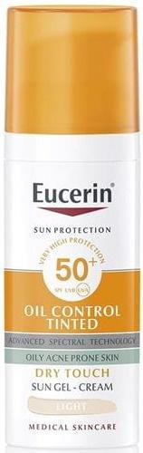 Eucerin Sun Face Oil Control Tinted SPF 50+ Light