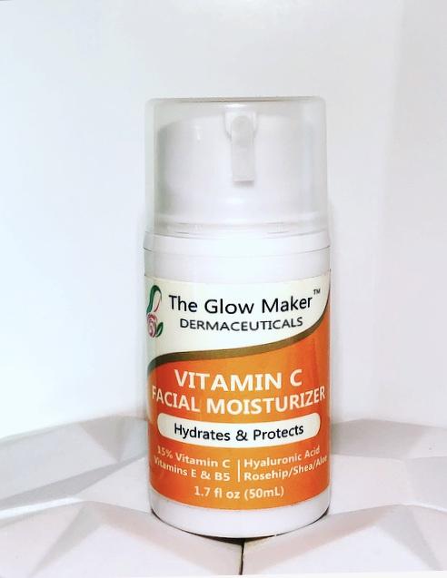 The Glow Maker Vitamin C Facial Moisturizer